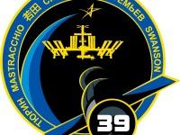 Эмблема 39-й экспедиции на Эмблема Международную Космическую Станцию