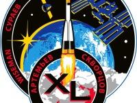 Эмблема 39/40-й экспедиции на Эмблема Международную Космическую Станцию