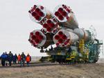 """Пилотируемый корабль """"Союз ТМА-12М"""" готовят к запуску на Байконуре"""