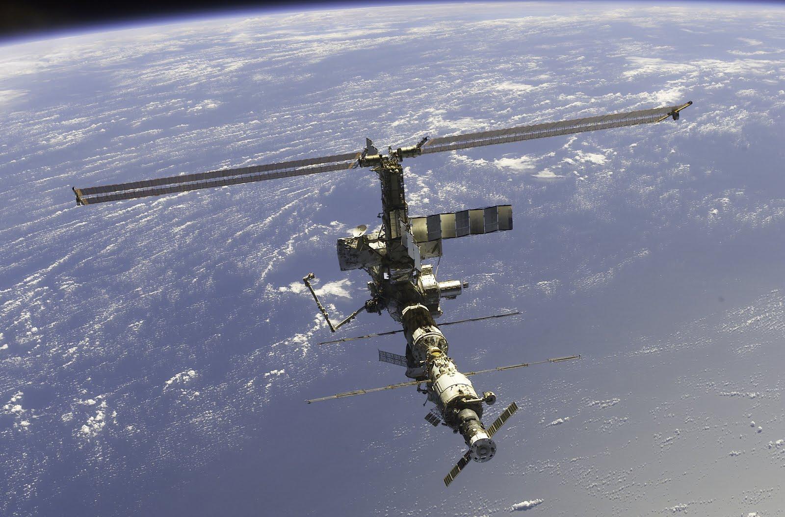 Международная космическая станция 2002 год