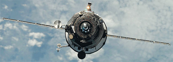 The Soyuz TMA manned transport spacecraft