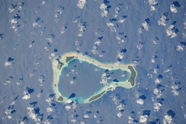 Salomon Atoll is a small atoll of the Chagos Archipelago