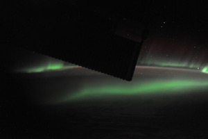 Aurora at the South Pole