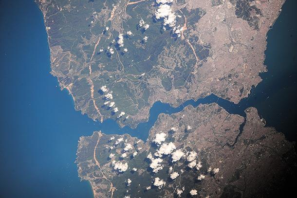 Пролив Босфор и Стамбул