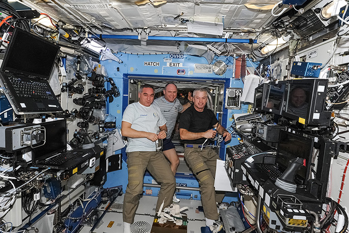 Flight Director/ISS CREW CONFERENCE