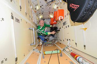 Генеральная уборка модуля МИМ1 перед приходом нового корабля