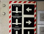 Таблички на МКС. Спасательные шлюпки.