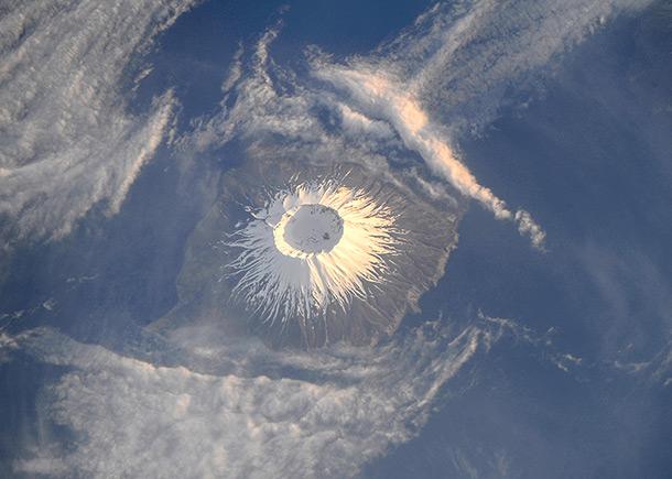 Яичница-глазунья посреди океана