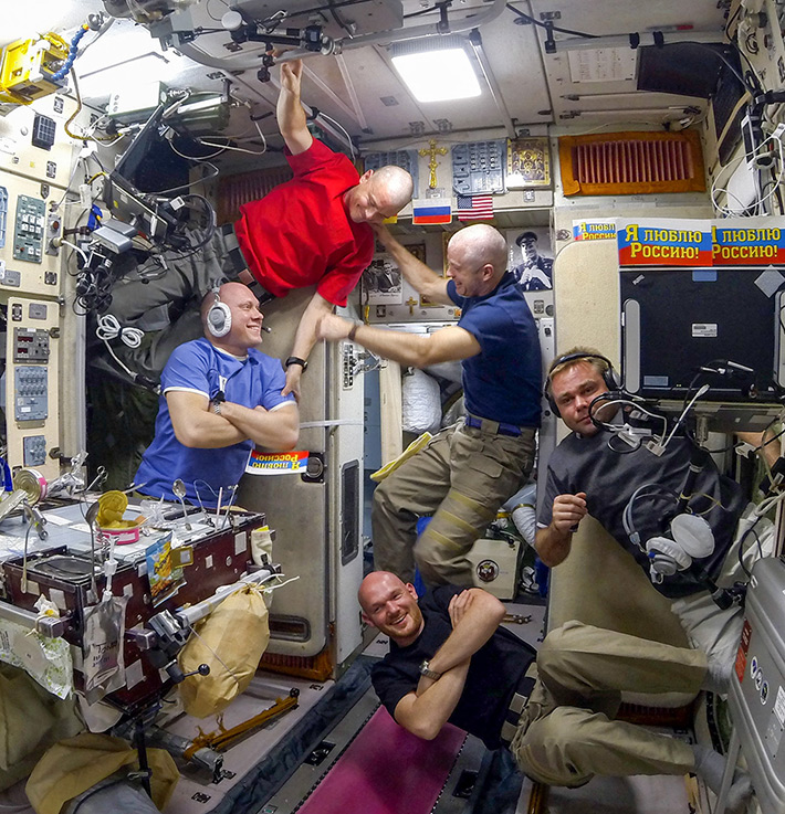 June 27. Youth Day Celebration on the ISS