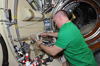 Continuation of Preparing for Spacewalk
