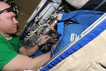 10 июня. Подготовка к Выходу в космос