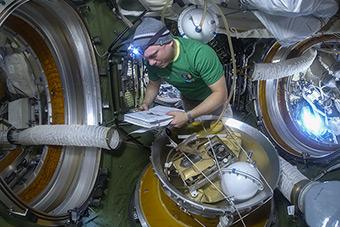 June 10. Preparation Spacewalk
