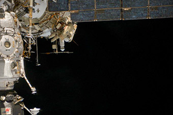 June 19, Russian Spacewalk. EVA 38