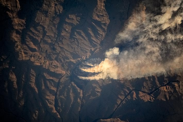 Лесные пожары в ЮАР
