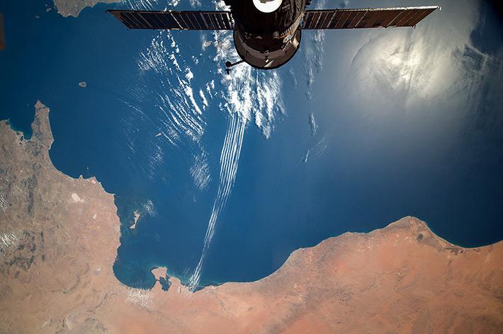 North Africa. Gulf of Gabes. Tripoli