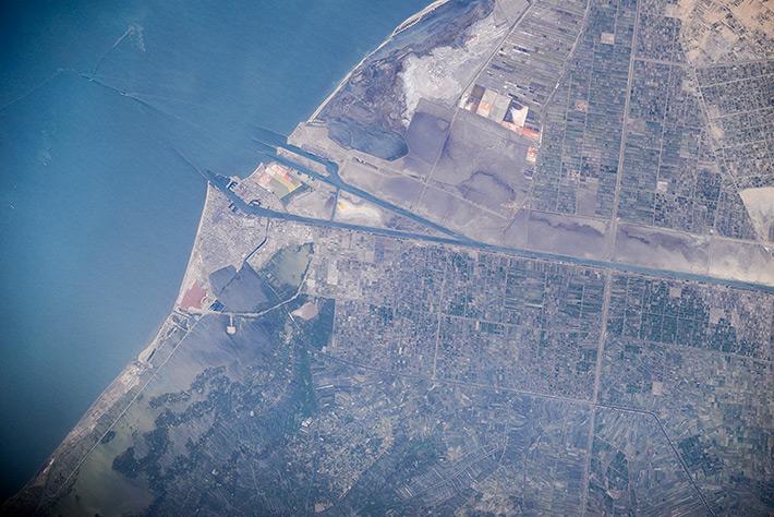 Suez Canal. Egypt