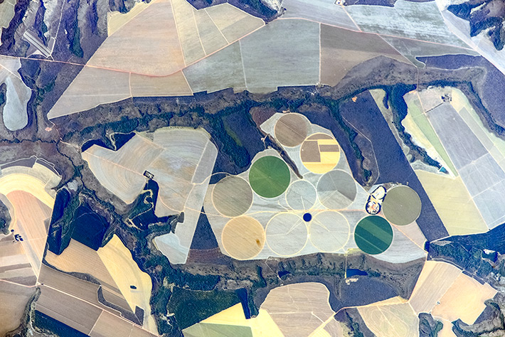 Earth Paints - Plantations near the Capital of Brazil