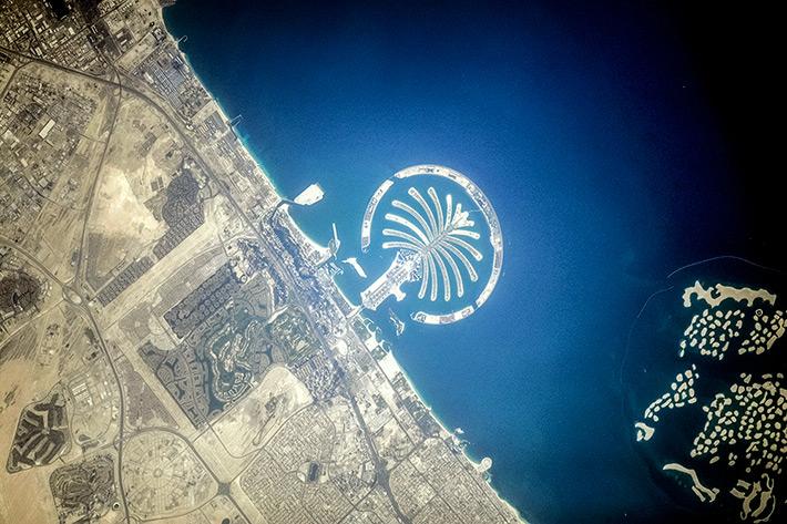 Искусственные острова в Дубае