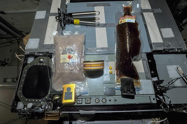 Breakfast on ISS
