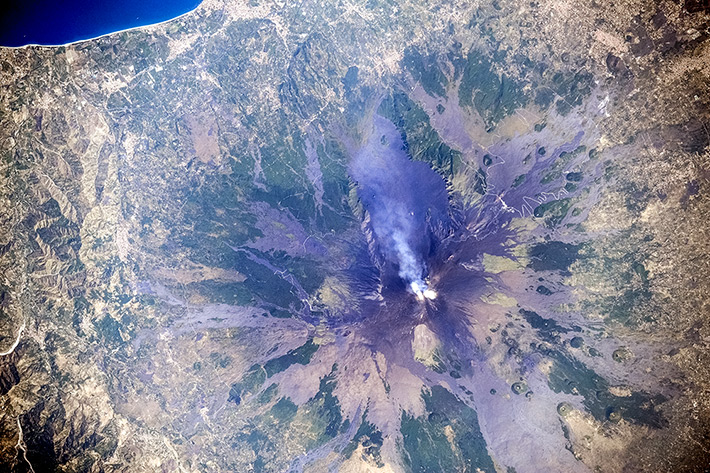 Вулкан Этна. Сицилия