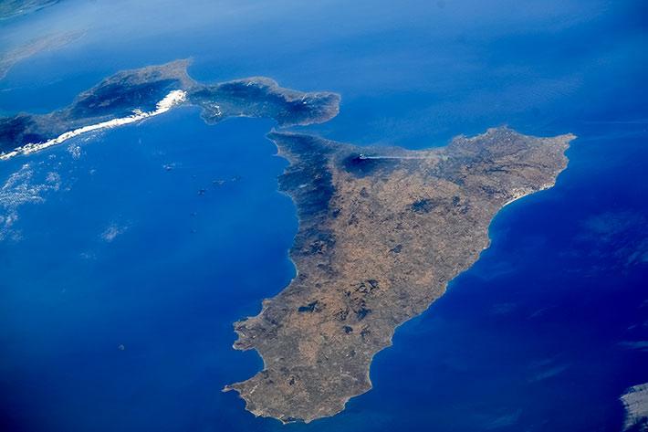 Вулкан Этна, Сицилия