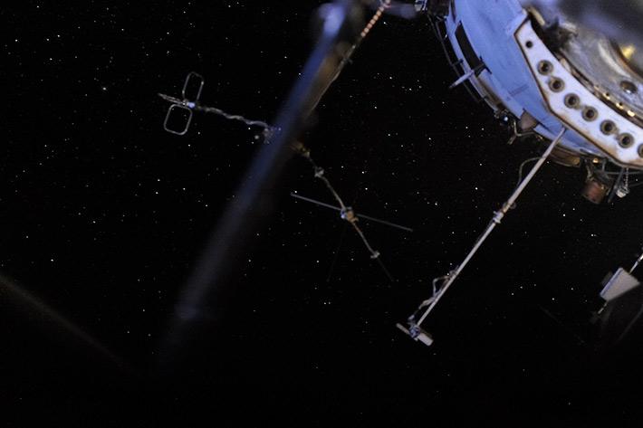 Звёздное небо с МКС