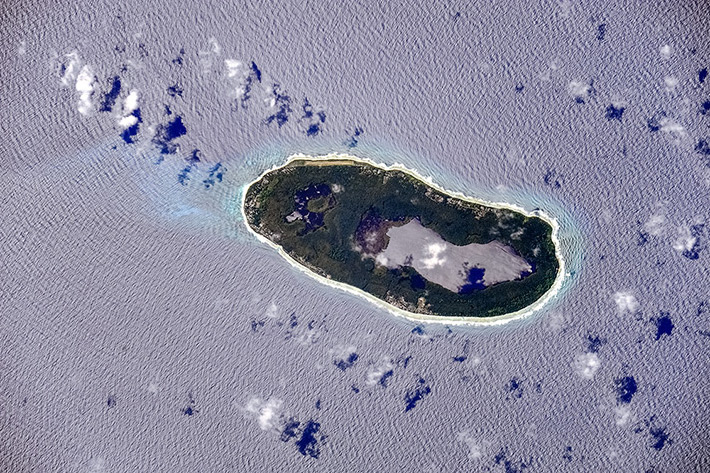 Islands of Kiribati - Teraina Island (Washington Island)