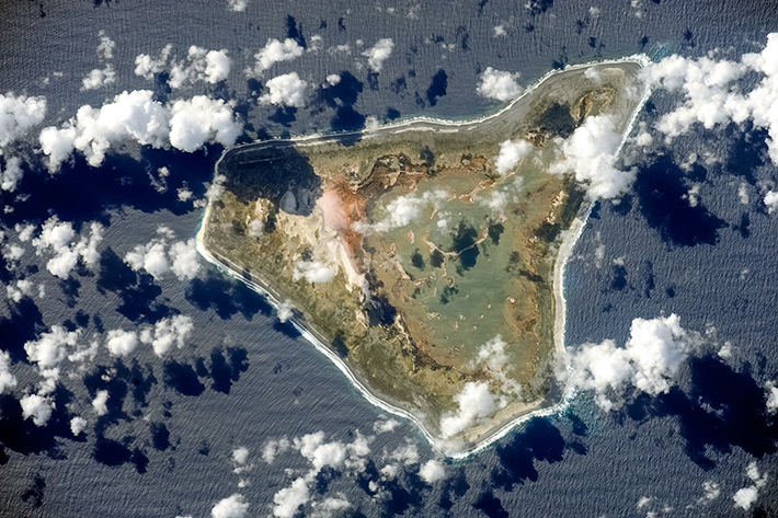Islands of Kiribati - Malden Island