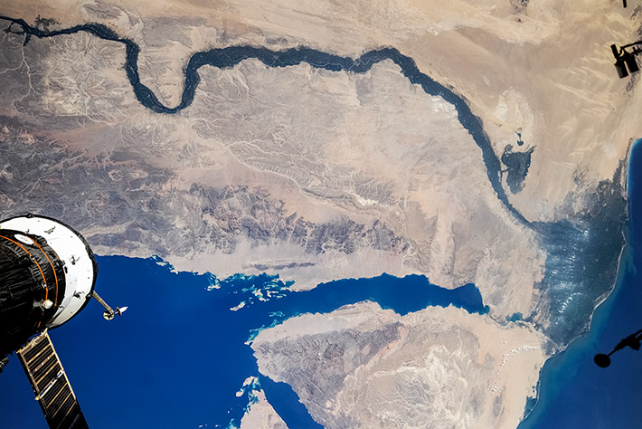 Egypt. Nile. Red Sea.