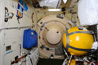 Before closing of the one more Progress hatch