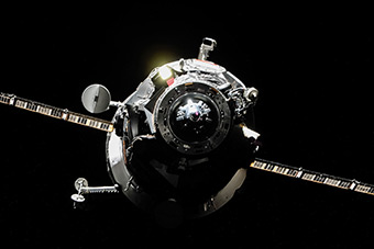 Docking Progress M-24M to ISS. July 24