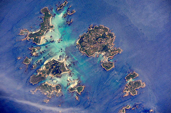 Isles of Scilly, Great Britain. Saint Martin's and Saint Mary's.