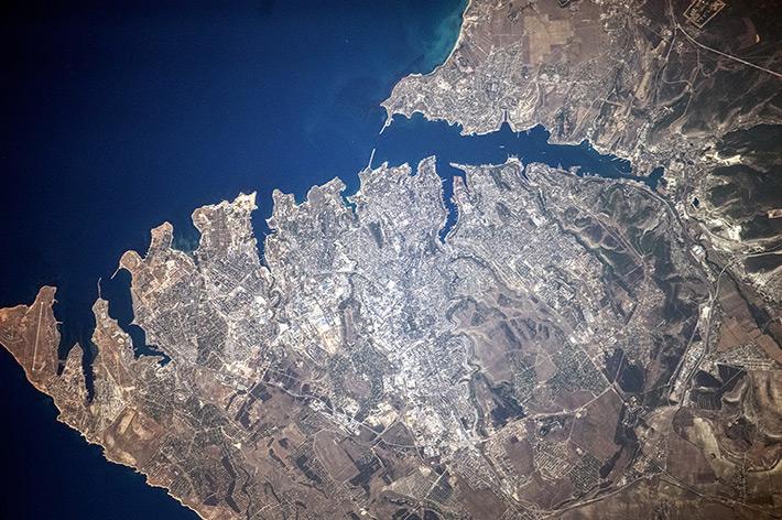 Cities in Russia - Sevastopol. Crimea.