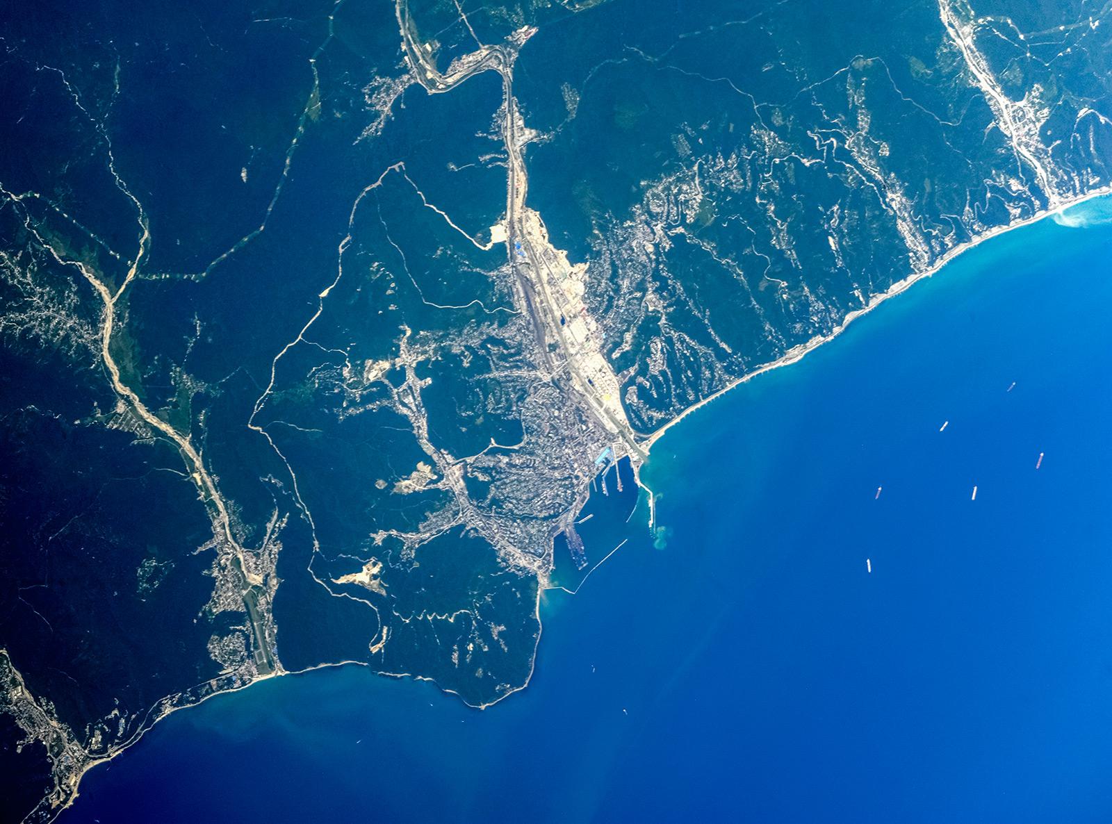 снимки краснодарского края из космоса