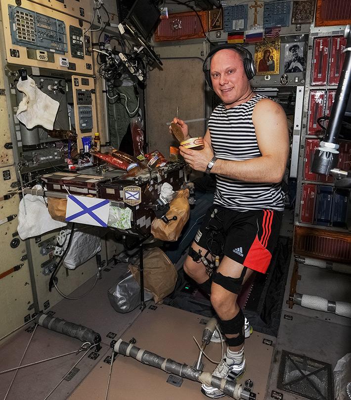 День Военно-Морского Флота на МКС. 27 июля