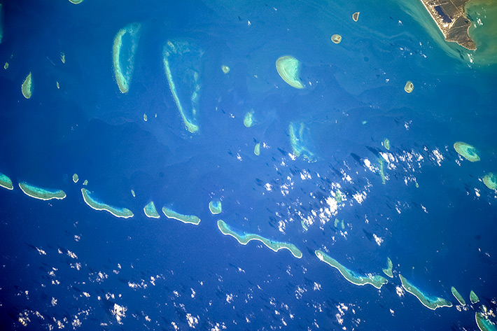 Earth Paints - The Great Barrier Reef
