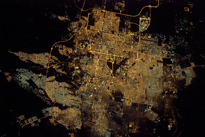 Cities of the World - Riyadh at Night is the capital City of Saudi Arabia