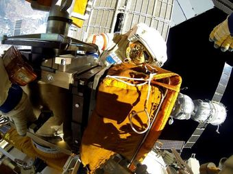 Работа на Выходе в космос (ВКД-39), 18 Августа 2014 г.