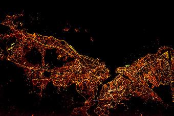 Города мира - Ночной Стамбул