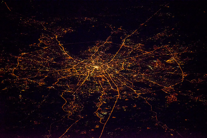 Cities in Russia - Night Moscow