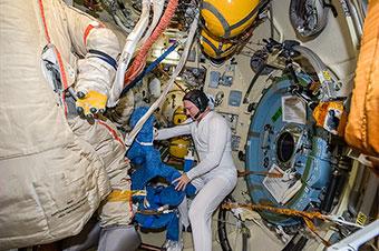 Spacewalk Preparation (EVA-39)
