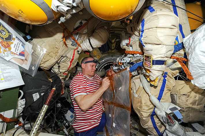 Spacewalk Preparation (EVA-39)