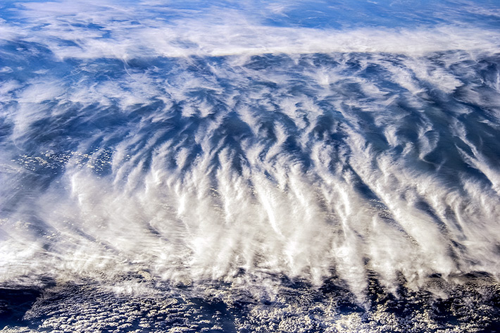 Clouds over South America