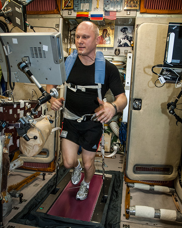 Sport on the ISS