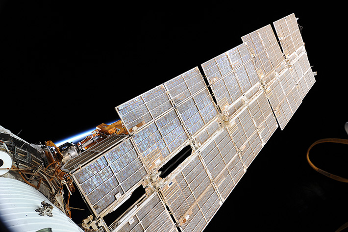 "Solar Panels of the Service Module ""Zvezda"""