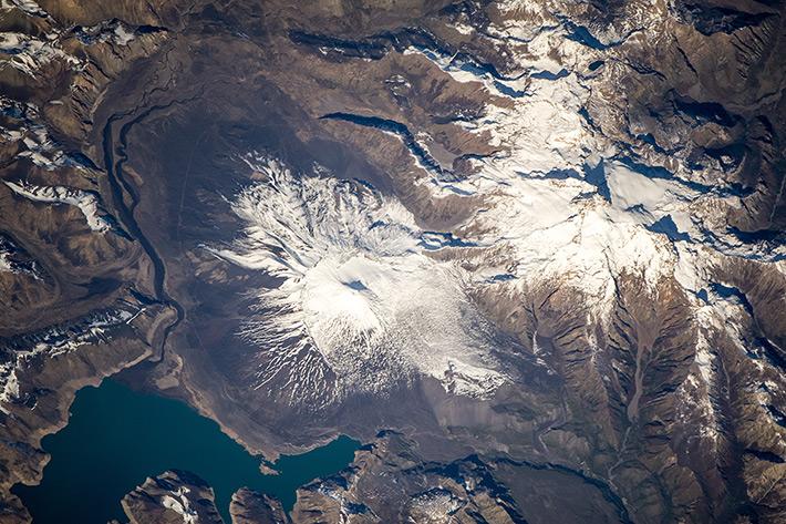 Antuco Volcano, South America