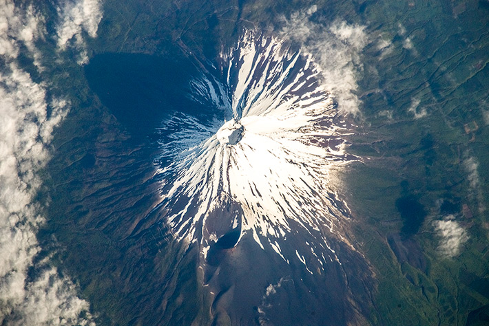 Mount Fuji is the highest mountain in Japan