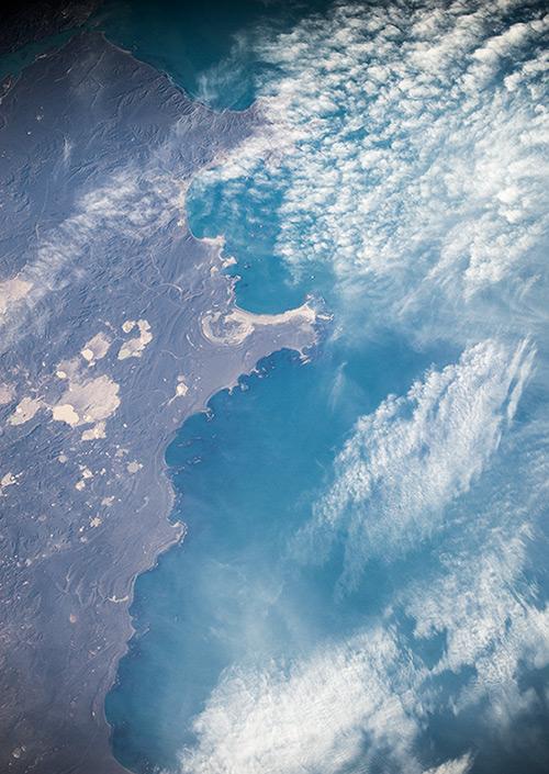 Spiring Bay under the Clouds, Argentina