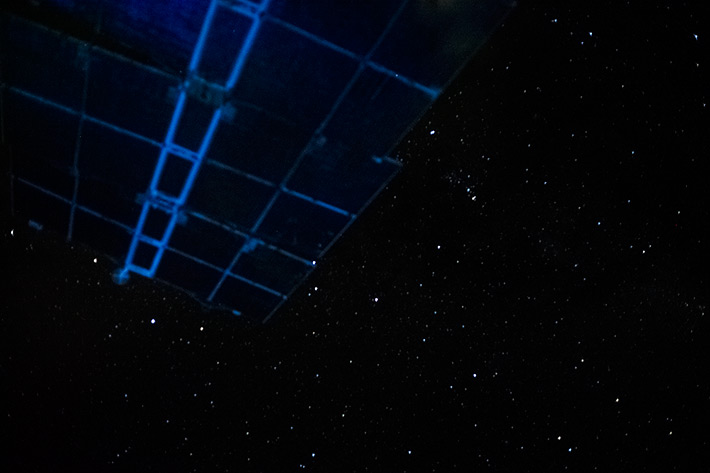 Starry Sky on the ISS