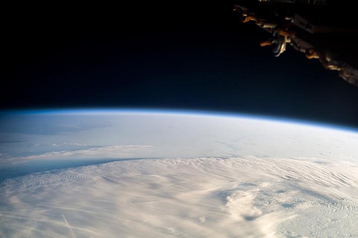 Over the Kamchatka